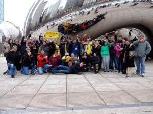 Livestrong Assembly in Chicago at the BEAN