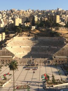 Roman Theater. Amman, Jordan. Thanks to Vin Diesel the cab driver.