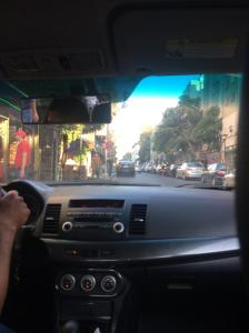 Vin Diesel the Fast and Furious cab driver in Amman, Jordan.