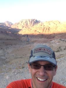 Desert selfie