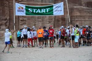 2014 Petra Desert Marathon Start Line
