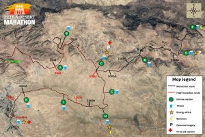 Petra-route-map